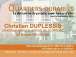 Intervention de Christian Duplessis
