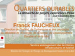 Intervention de Frank Faucheux