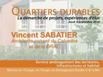 Intervention de Vincent Sabatier
